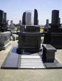 笠墓 ガラス製仏石