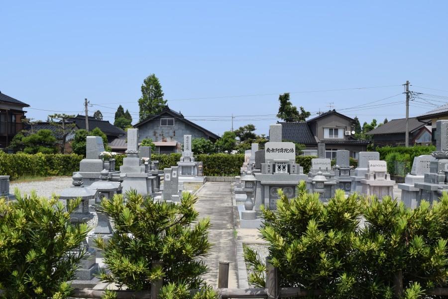明楽寺 高柳墓地