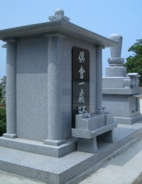 柱構造の納骨堂