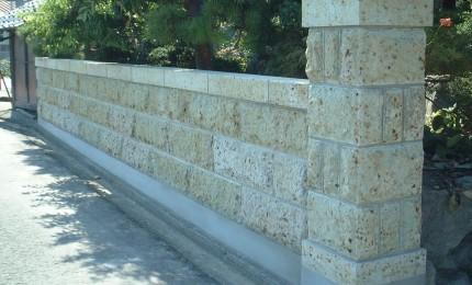 石塀(施工後)