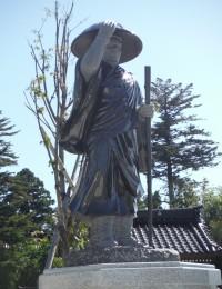 善得寺 石像(親鸞聖人)
